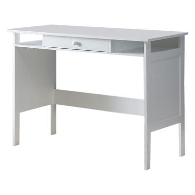 Stan White Wood Home and Office Writing Desk