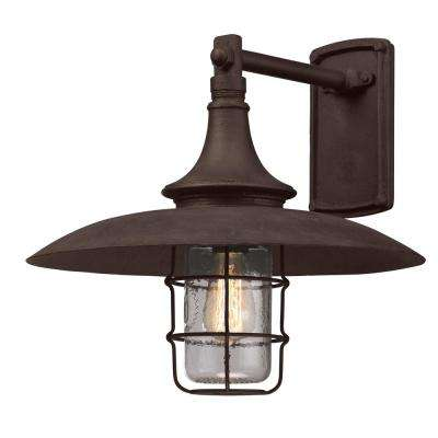 Allegany Centennial Rust Outdoor Wall Mount Sconce