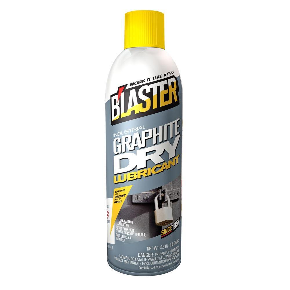 Blaster 5.5 oz. Industrial Graphite Dry Lubricant