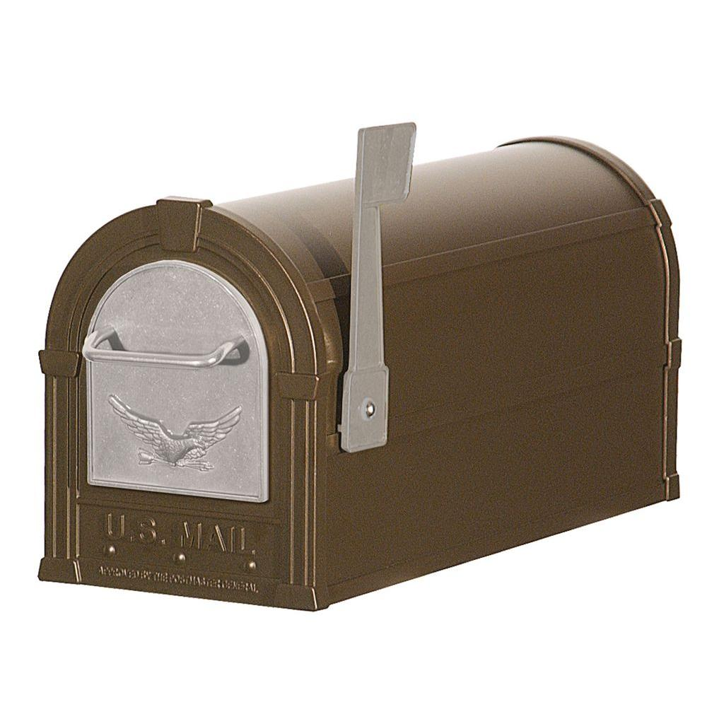 Salsbury Industries 4800 Series Eagle Rural Post-Mount Mailbox