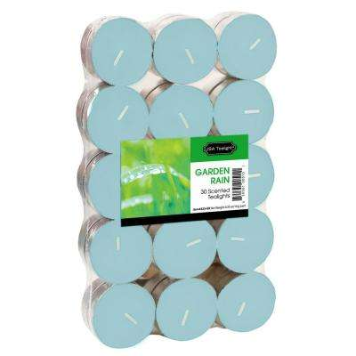 Garden Rain Tealight Candles (Set of 60)