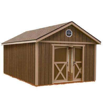 North Dakota 12 ft. x 20 ft. Wood Storage Shed Kit