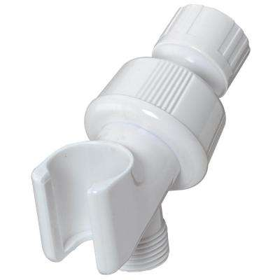 Shower Arm Mount in White