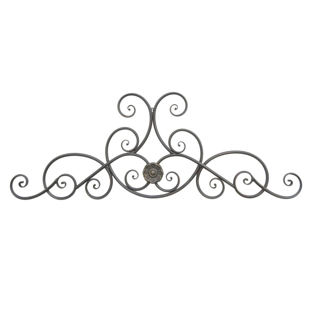 Metal Black Wall Decoration