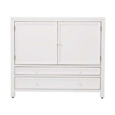 42 in. Wood Craft Space Storage Cabinet in Picket Fence
