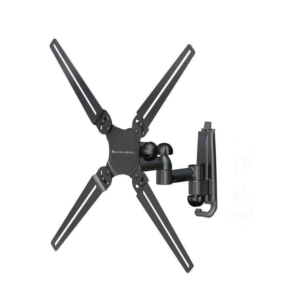 Level Mount Full Motion Double Arm Mount Fits for 10 in. to 32 in. TVs