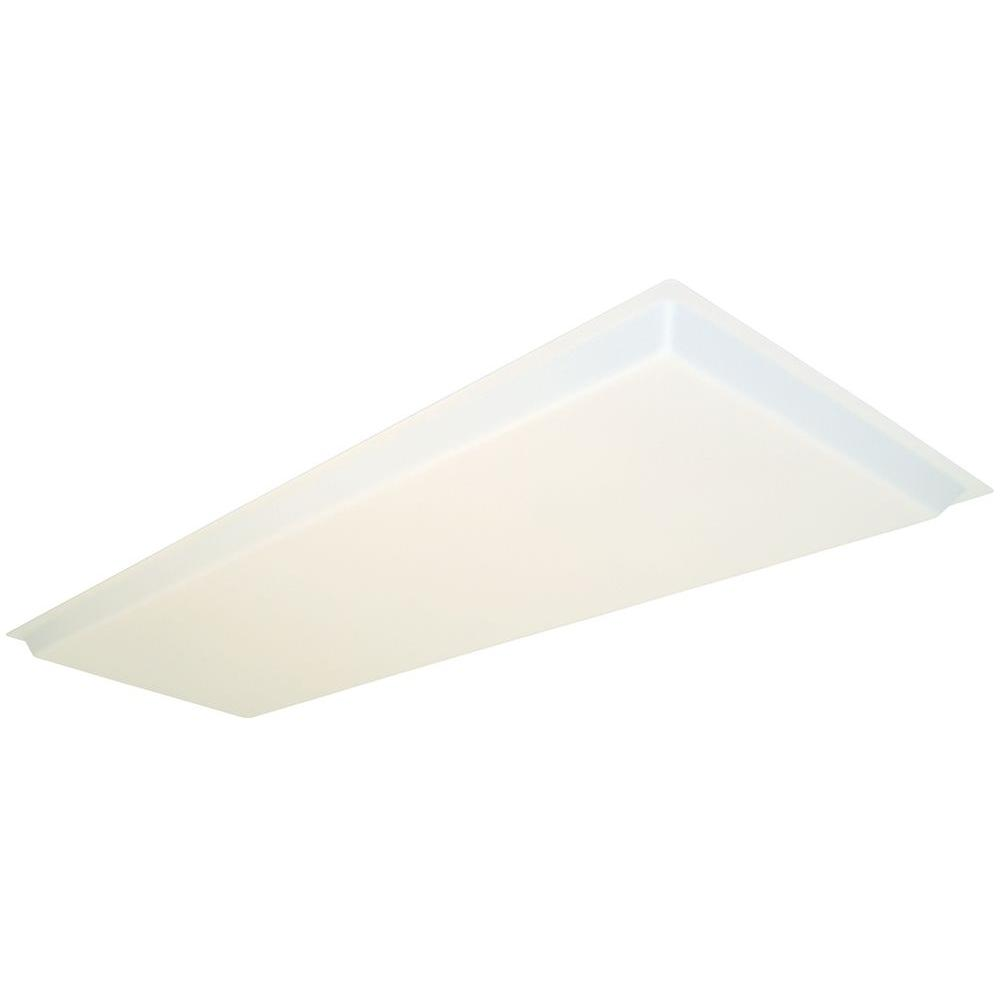 Lithonia Lighting 1-1/2 Ft. X 4 Ft. Dropped White Acrylic