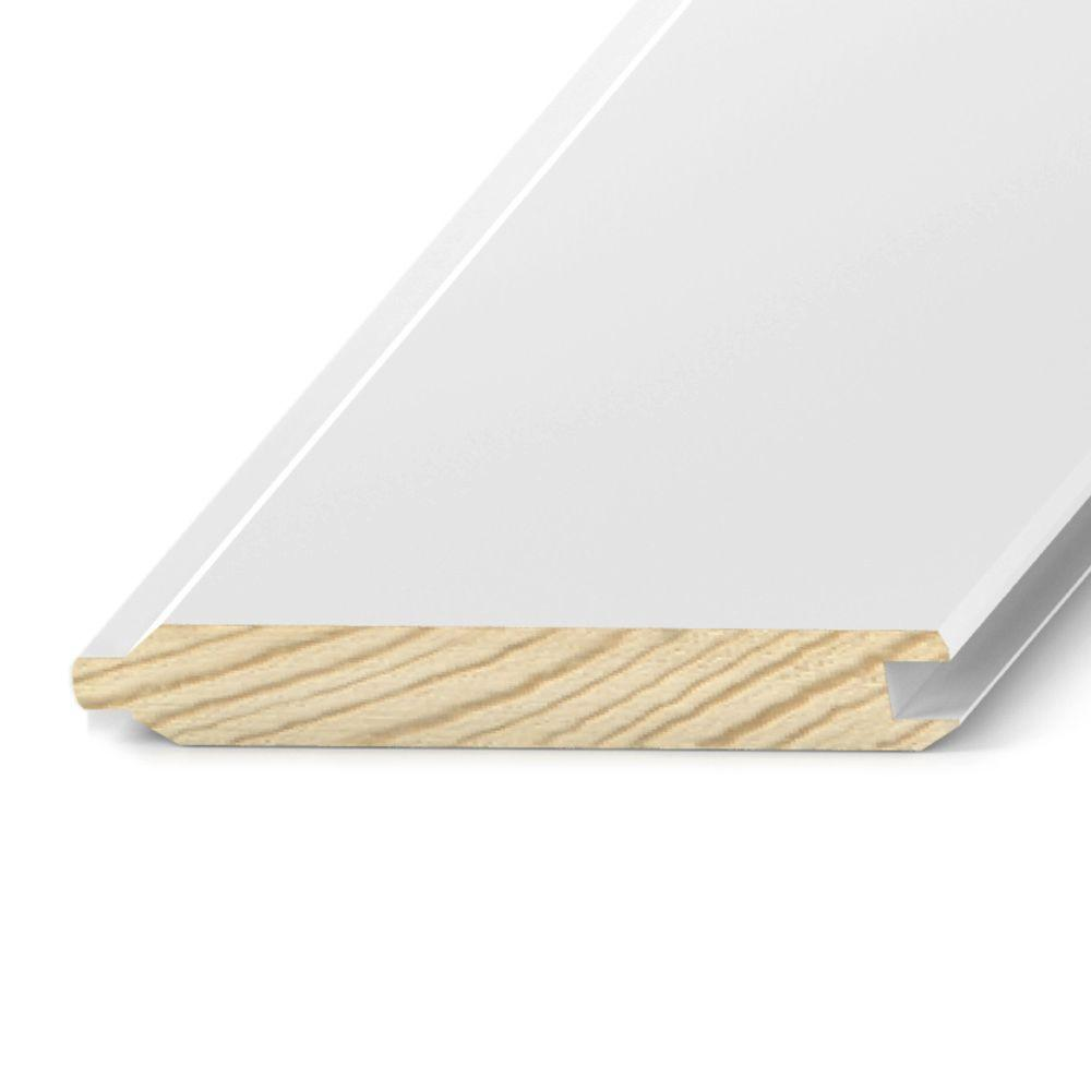 1 In X 8 In X 16 Ft Primed Treated Tongue Groove Board Ptp23016 The Home Depot