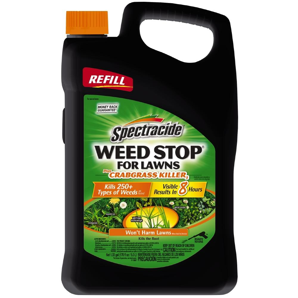 Spectracide Weed Stop 1.3 gal. Accushot Plus Crabgrass Killer Refill