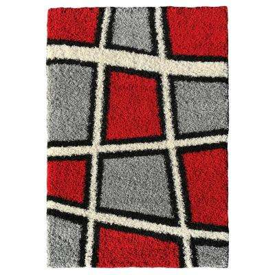 Bella Collection Multi-Colored 1 ft. 8 in. x 2 ft. 7 in. Area Rug