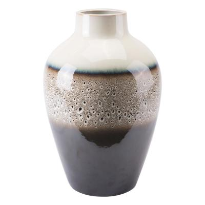 Multicolor Dripped Medium Decorative Vase