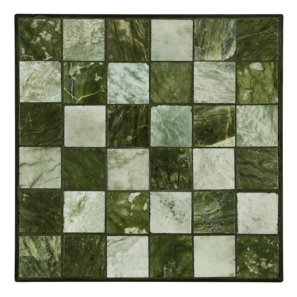 Outdoor Essentials 12 in. x 12 in. Jade Small Tile Decorative Garden ...