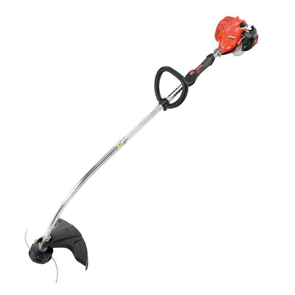 Echo 21 2 Cc Gas 2 Stroke Cycle Curved Shaft Trimmer Gt 225l The Home Depot