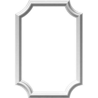 16 in. W x 24 in. H x 1/2 in. P Ashford Molded Scalloped Wainscot Wall Panel
