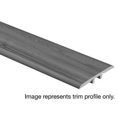Grey Wood 5/16 in. Thick x 1-3/4 in. Wide x 72 in. Length Vinyl T-Molding