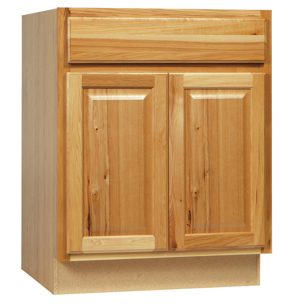 Home Depot Cabinets Kitchen Stock: Hampton Bay Hampton Assembled 24 X 34.5 X 21 In. Bathroom