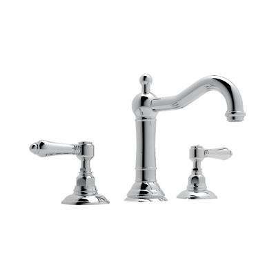 Acqui 8 in. Widespread 2-Handle Bathroom Faucet in Polished Chrome
