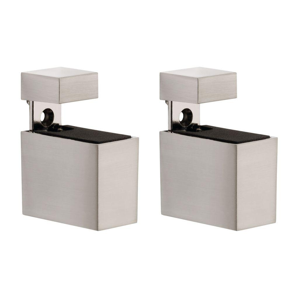 Dolle Cuadro 3/16 in. - 3/4 in. Adjustable Shelf Support in Stainless Steel