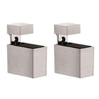 Cuadro 3/16 in. - 3/4 in. Adjustable Shelf Support in Stainless Steel