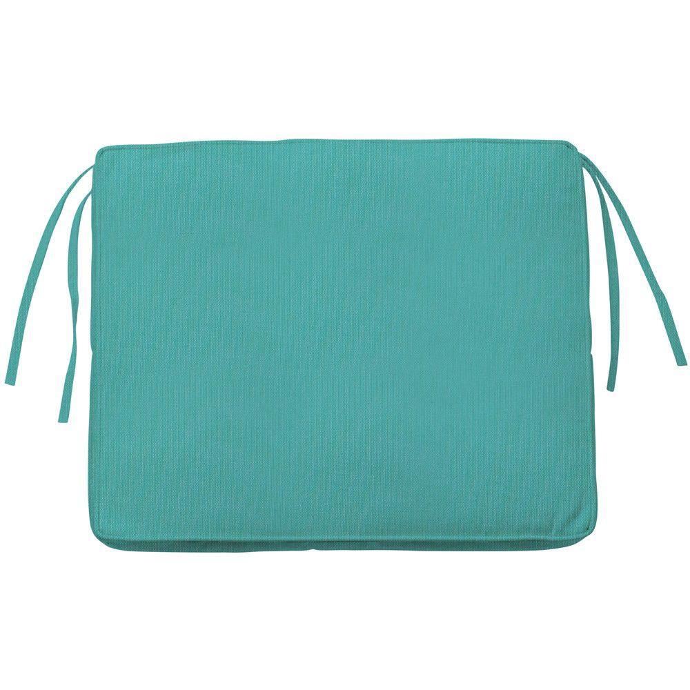 Home Decorators Collection Sunbrella Aruba Rectangular Outdoor Seat Cushion