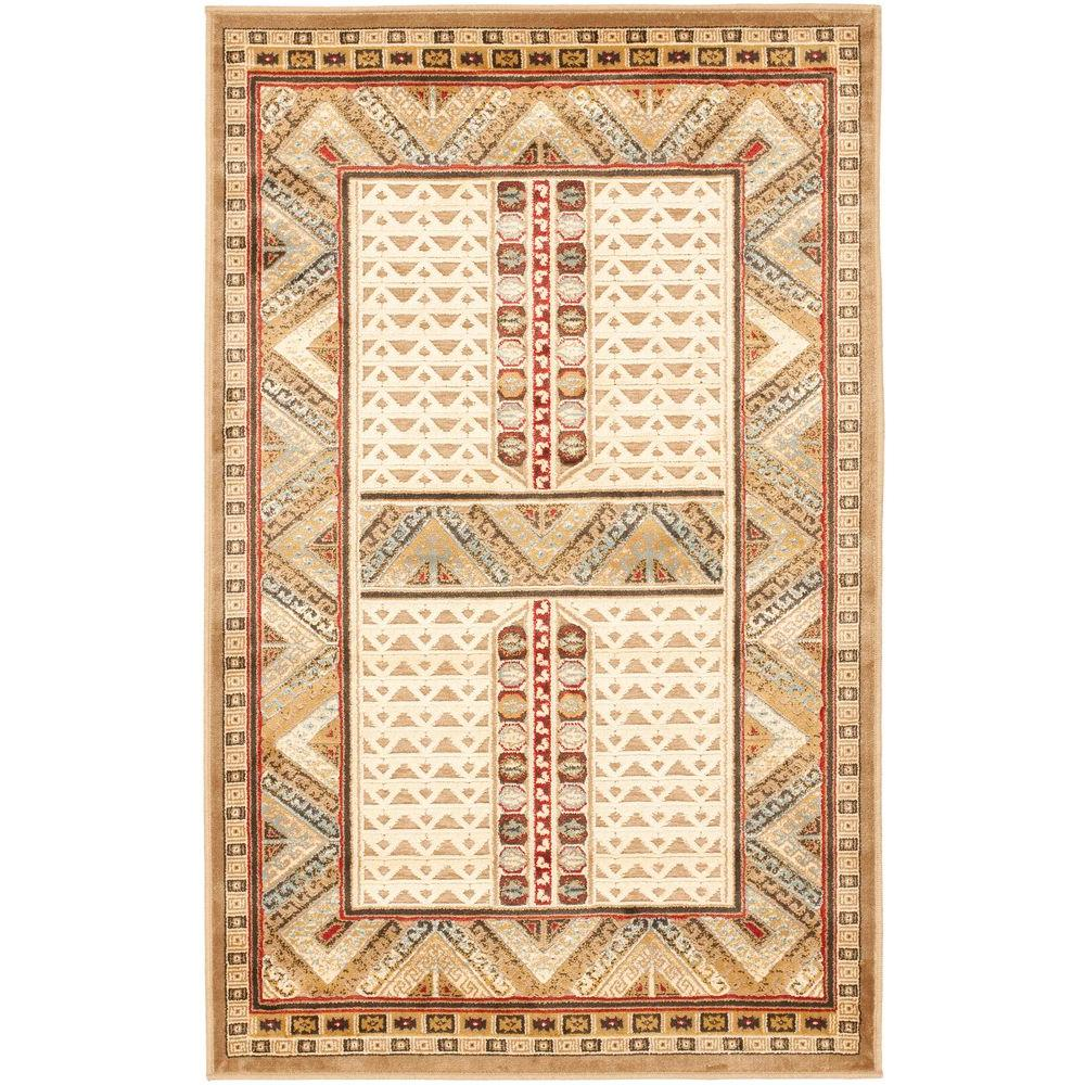 Paradise Ivory 2 ft. 7 in. x 4 ft. Area Rug