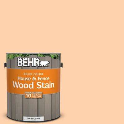 1 gal. #270A-3 Luminary Solid Color House and Fence Exterior Wood Stain