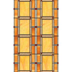D-C-Fix Arts and Crafts 17 inch x 78 inch Home Decor Self Adhesive Window Film (2-Pack) by D-C-Fix