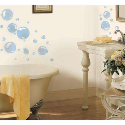Bubbles Peel and Stick Wall Decal