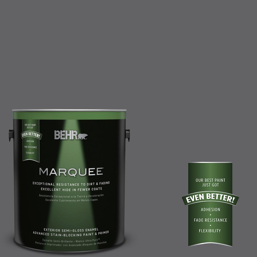 BEHR MARQUEE 1-gal. #N530-6 Digital Semi-Gloss Enamel Exterior Paint