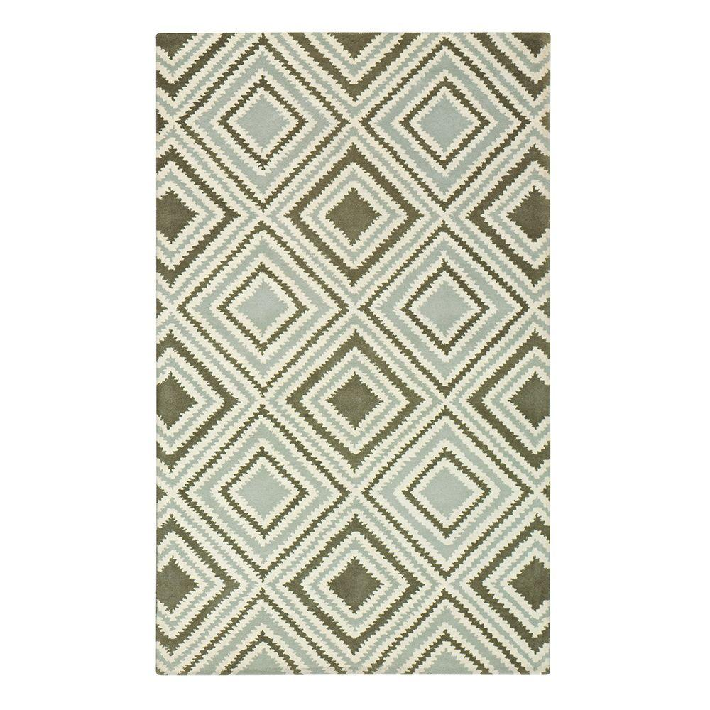 Home Decorators Collection Insignia Beige 2 ft. x 3 ft. Area Rug