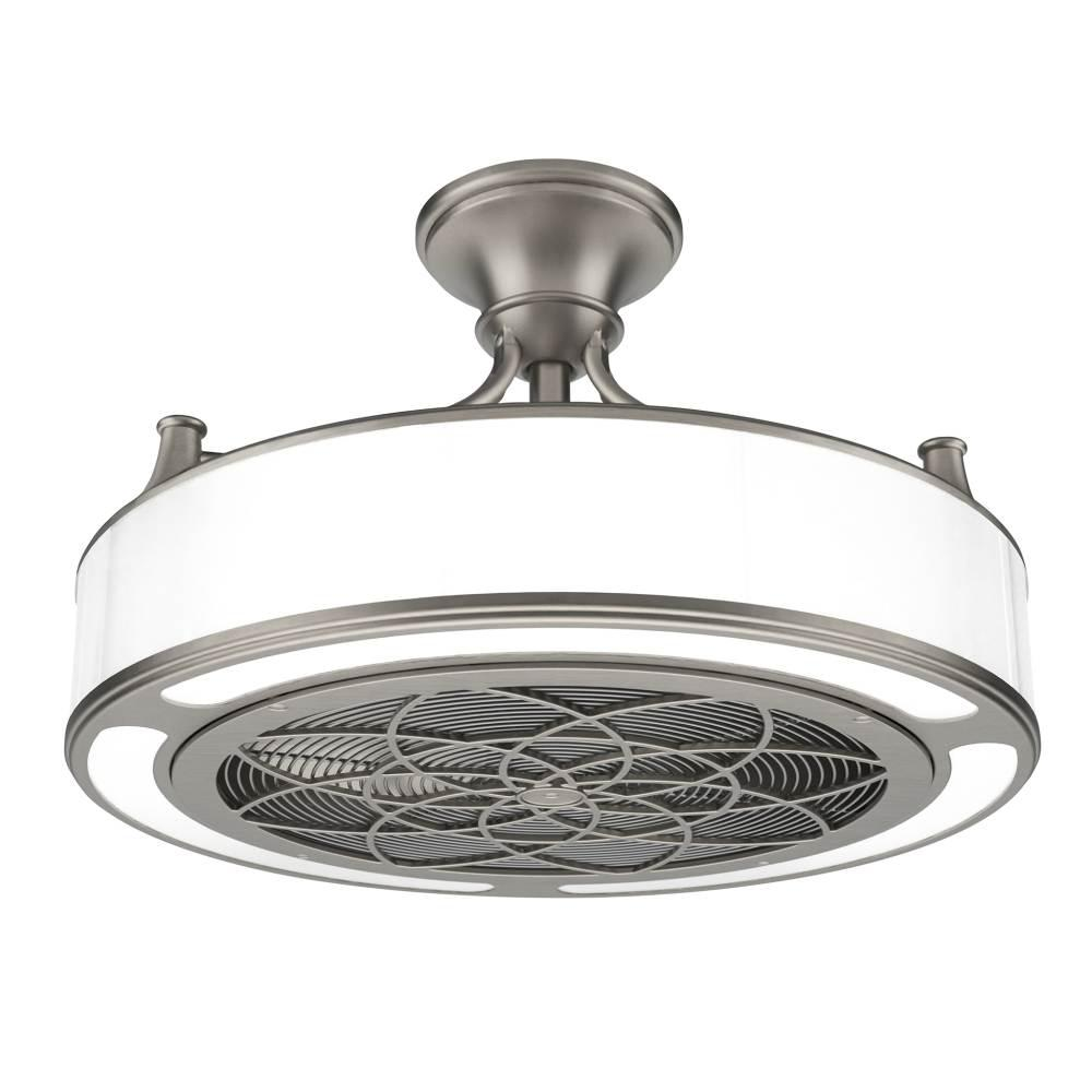 Stile Anderson 22 In Led Indoor Outdoor Brushed Nickel