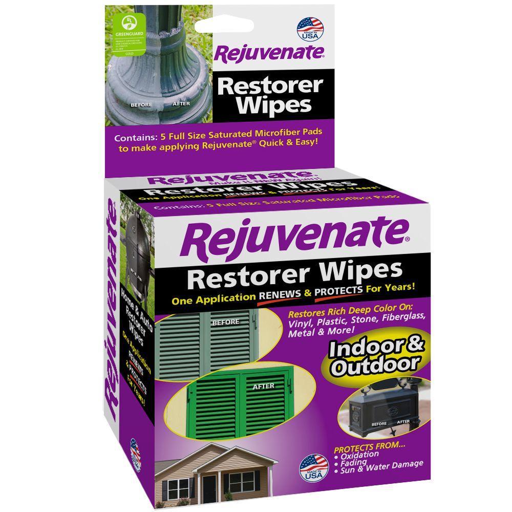 Rejuvenate Pre Saturated Restorer Wipes 5 Pack