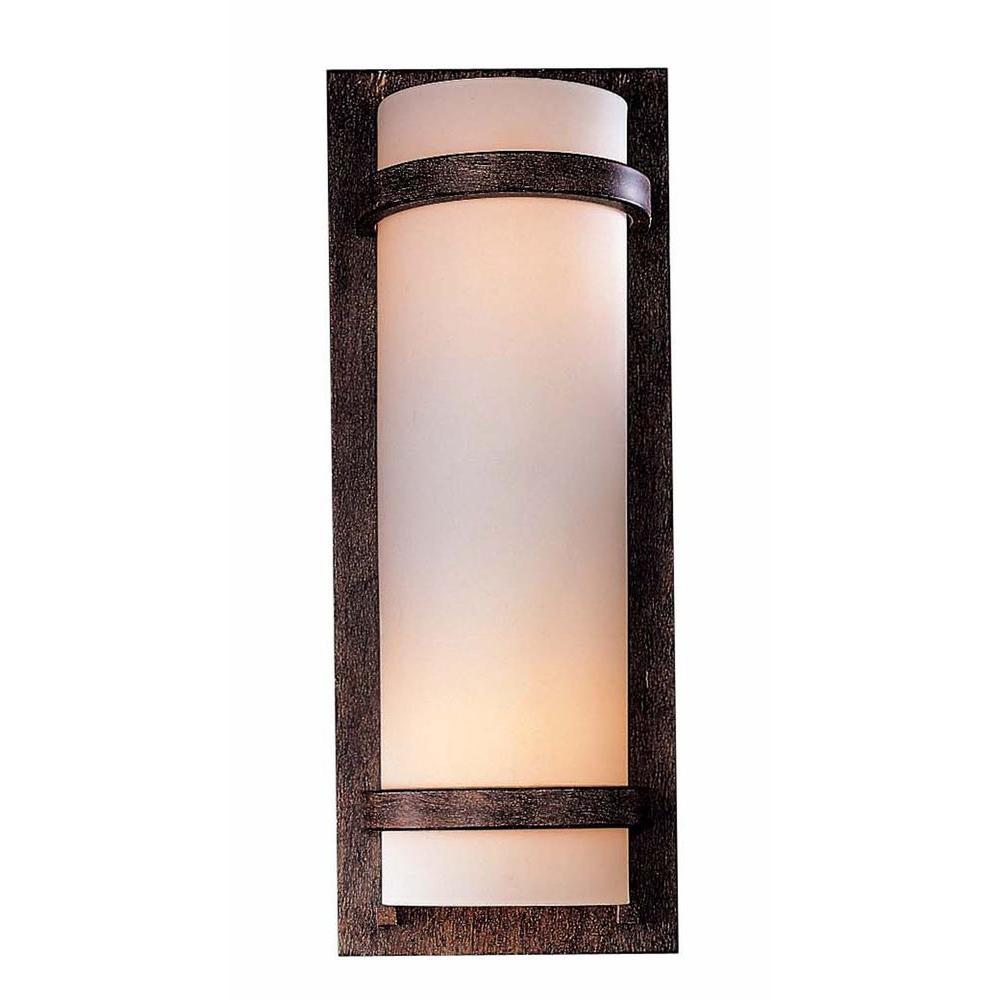 2-Light Iron Oxide Wall Sconce