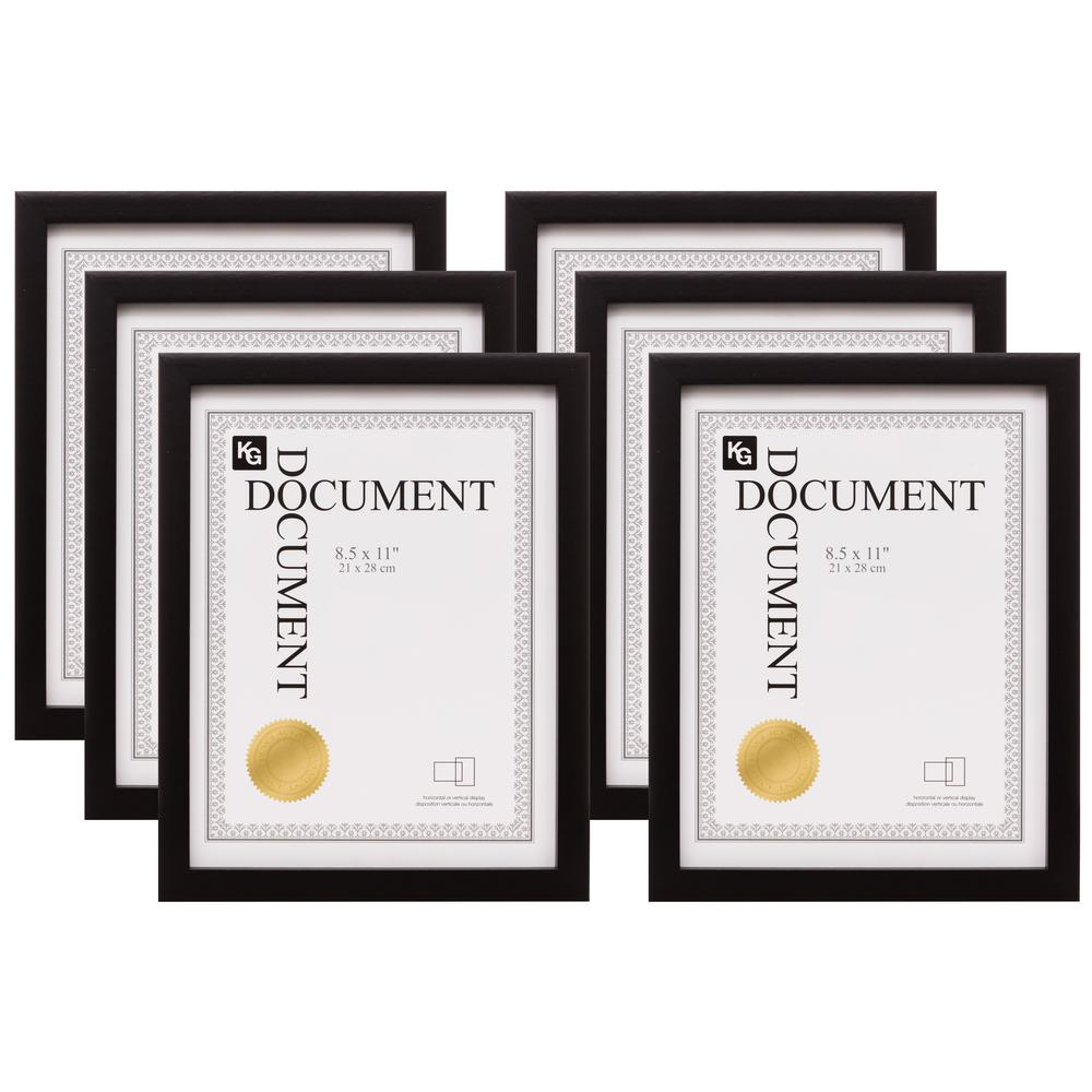 KG kieragrace Gallery Document Photo Frames, Black was $90.9 now $54.96 (40.0% off)