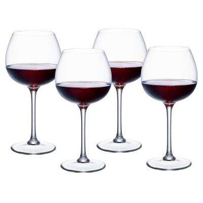 Purismo 18.5 fl. oz. Lead Free Crystal Full Bodied Red Wine Glass (4-Pack)