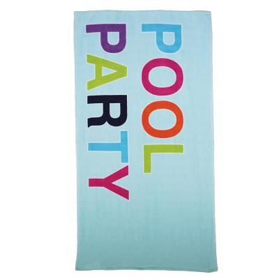 Pool Party 100 % Cotton Beach Towel