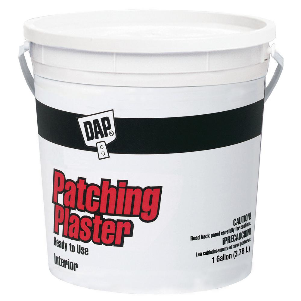 Dap 128 Fl Oz 1 Gal Patching Plaster Ready To Use 52290 The Home Depot