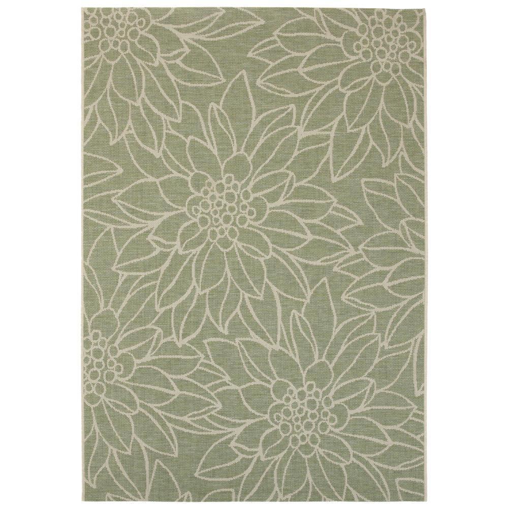 Home Decorators Collection Elsie Green 9 Ft. X 13 Ft. Indoor/Outdoor Area  Rug 9949150610   The Home Depot
