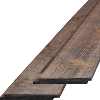3/4 in. x 6-1/4 in. x 96 in. 100-Year Old Traditional Barnwood Barntique Gaynes Ship Lap Wall Panels