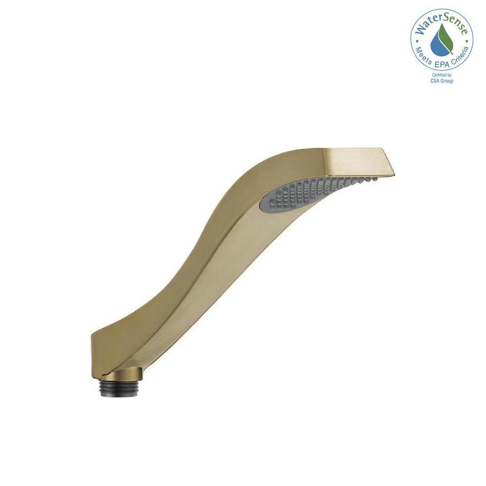 Dryden 1-Spray Handheld Showerhead in Champagne Bronze