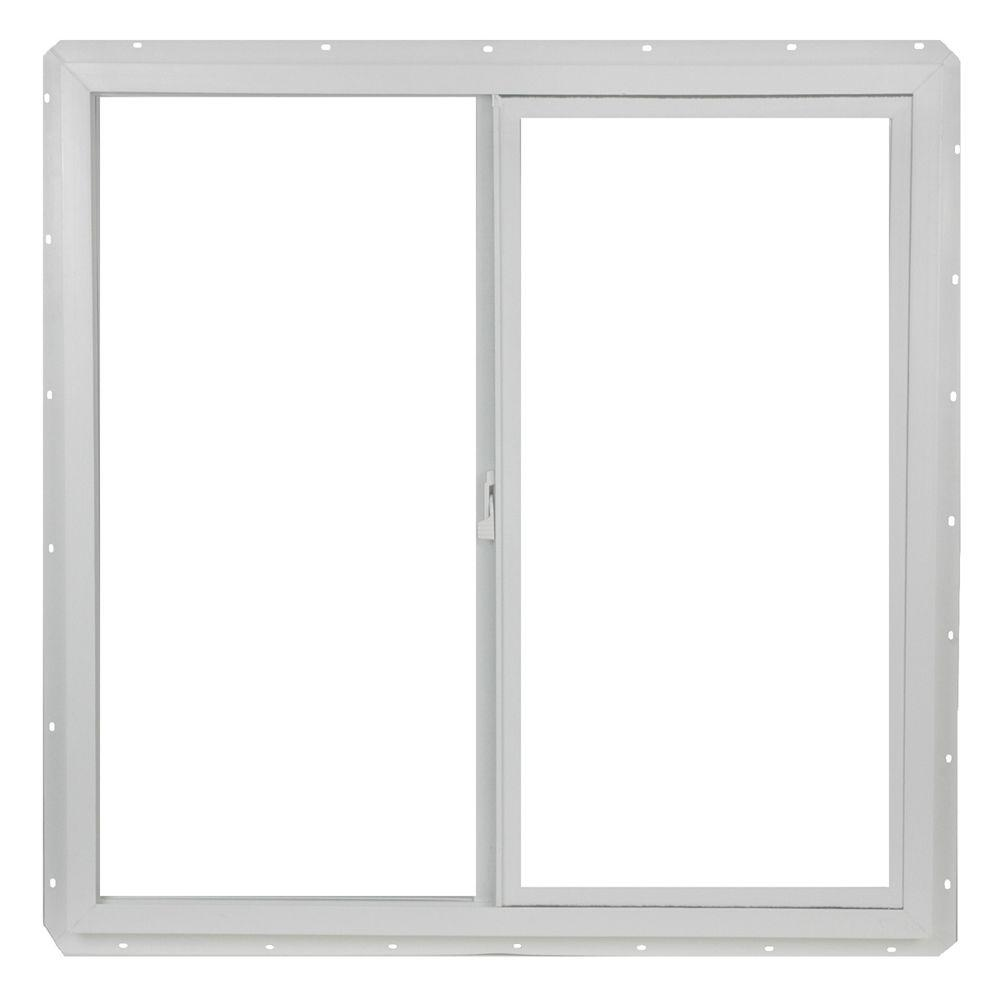 TAFCO WINDOWS 35 5 in x 35 5 in Left Hand Single Slider