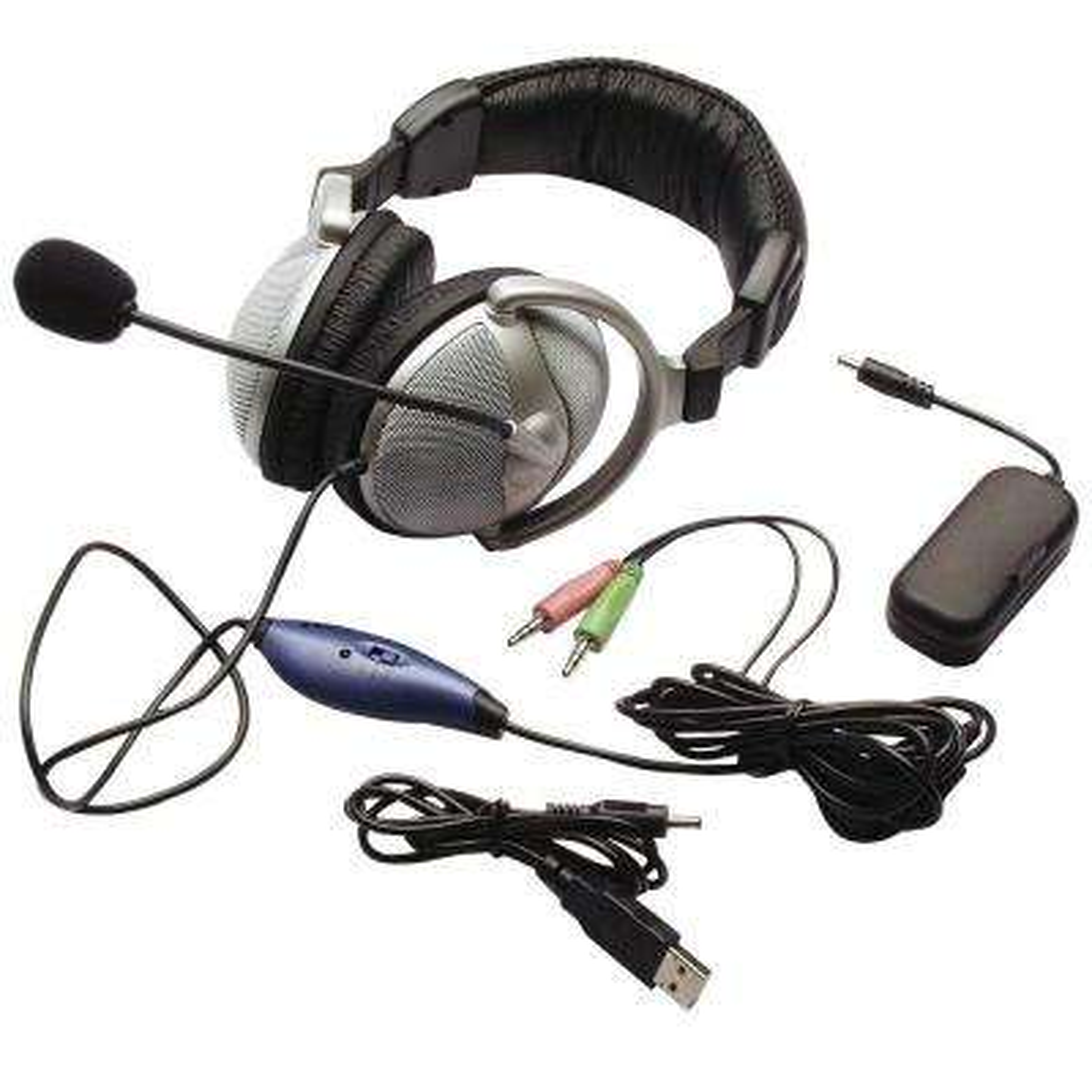 3.5 mm Bass Vibration Headphones, Black