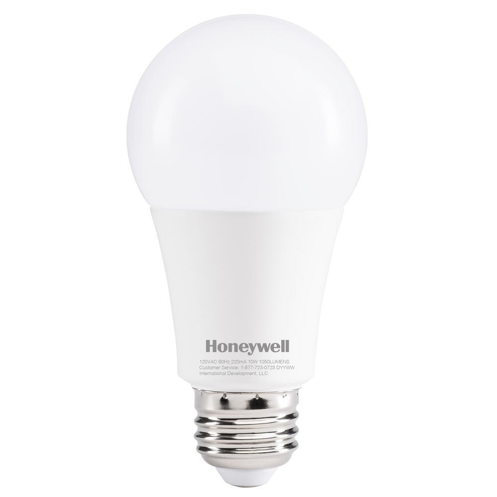 Honeywell 75W Equivalent Daylight White A19 LED Light Bulb  sc 1 st  The Home Depot & Honeywell 75W Equivalent Daylight White A19 LED Light Bulb ... azcodes.com