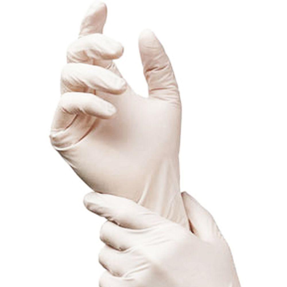 Safe Handler Powdered Multipurpose Premium Medium Latex Gloves (100-Count)
