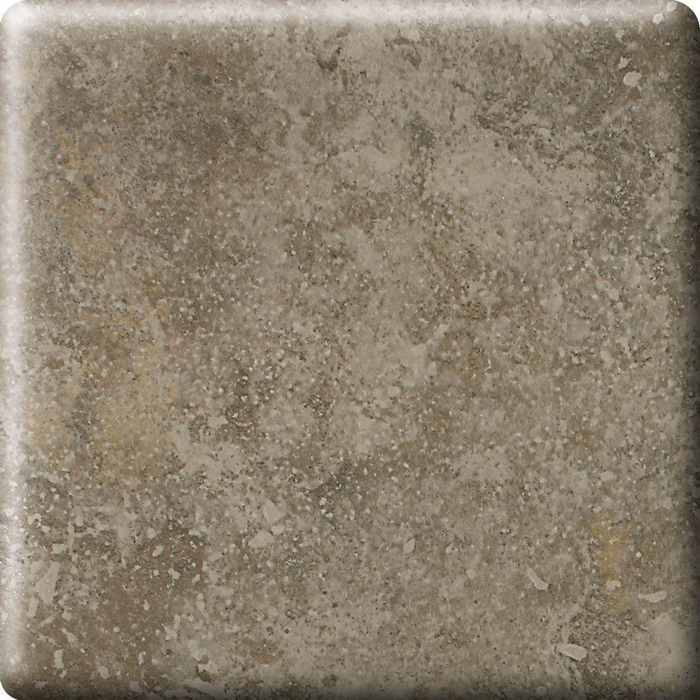 Heathland Sage 6 in. x 6 in. Glazed Ceramic Bullnose Corner Wall Tile