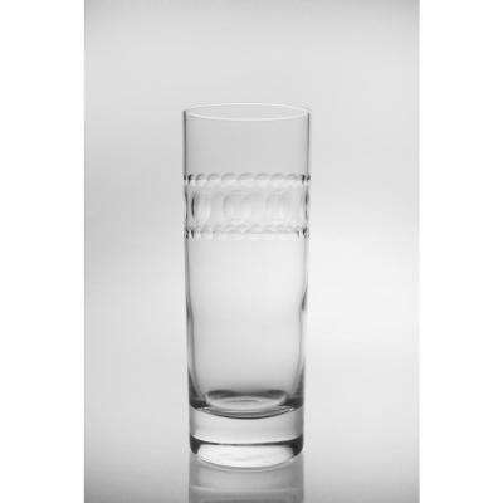 Gatsby 12 oz. Clear Cooler Highball (Set of 4)