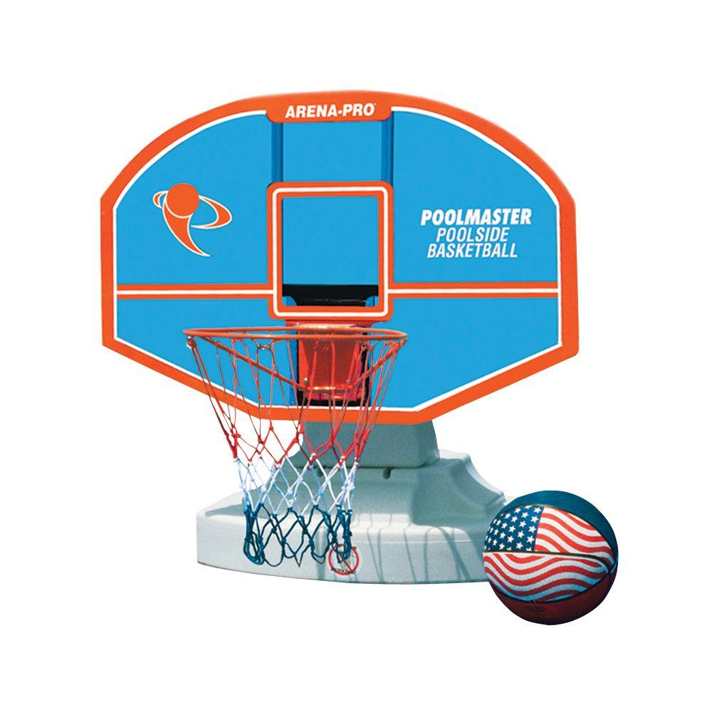 Poolmaster Arena-Pro Composite Competition Poolside Basketball Game-DISCONTINUED