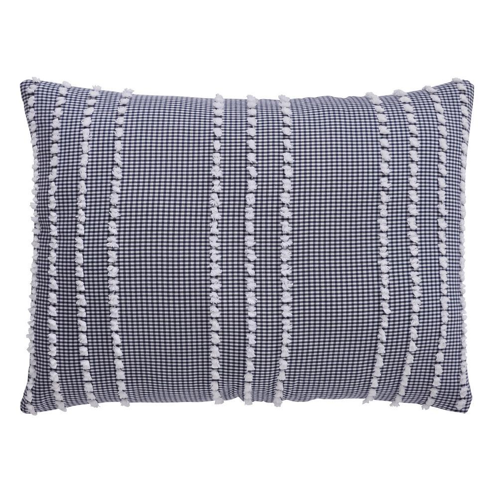 Winston Collection in Stripes Design 100% Cotton Tufted Chenille Comforter