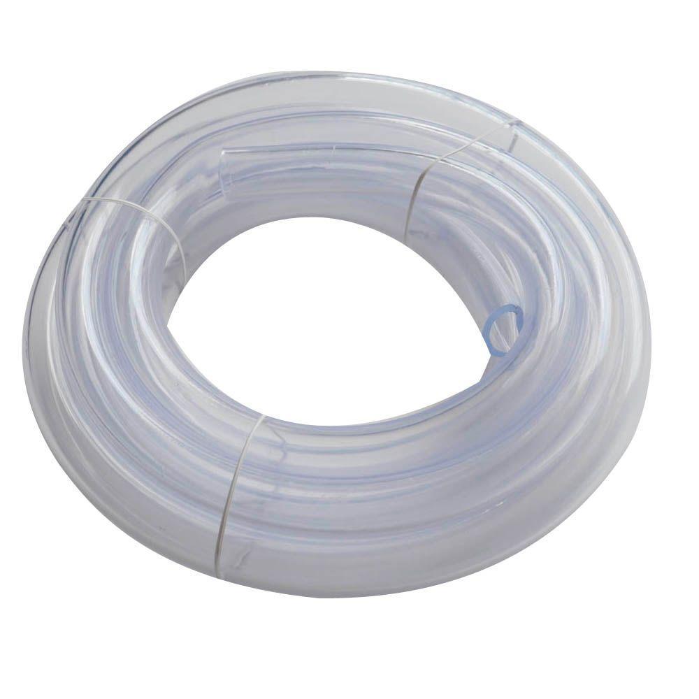 7/8 in. O.D. x 5/8 in. I.D. x 10 ft. Clear PVC Vinyl Tube