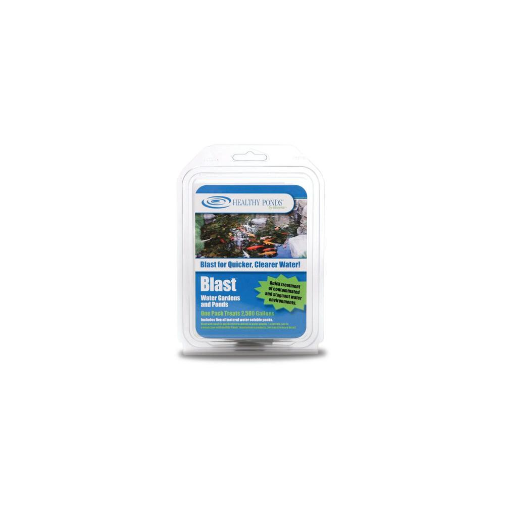 Bioverse Healthy Ponds Blast 2 500 Gal Pond Water Treatment 5 Pack